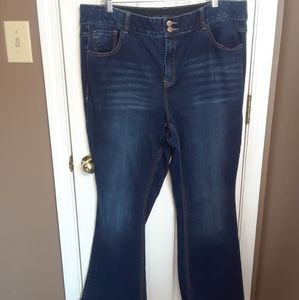 NW0T 22R LANE BRYANT WOMENS JEANS HIGH RISE 13in